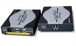 Optical Stretch FireWire 400/800(IEEE1394a/b) Repeater Set